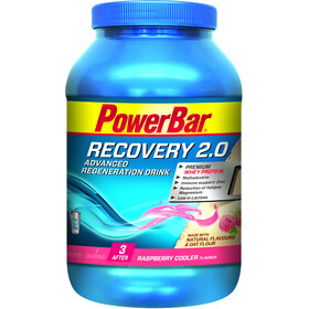 PowerBar Recovery Regeneration Drink 2.0 Sports Nutrition Raspberry Cooler 1144g
